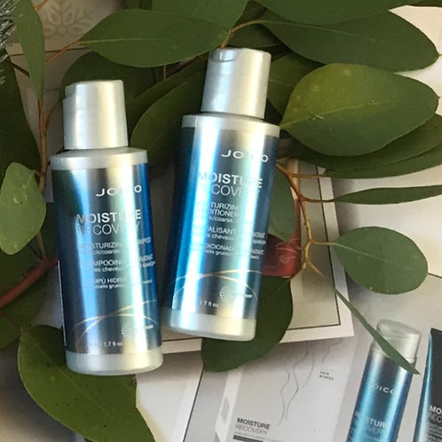 Moisture Recovery duo for naturally dry hair