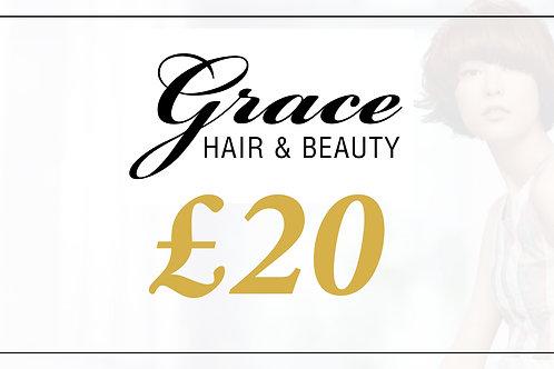 Grace Gift Voucher - £20
