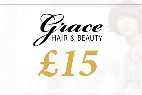 Grace Gift Voucher - £15