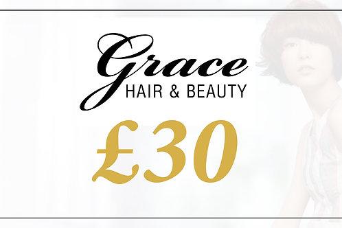 Grace Gift Voucher - £30