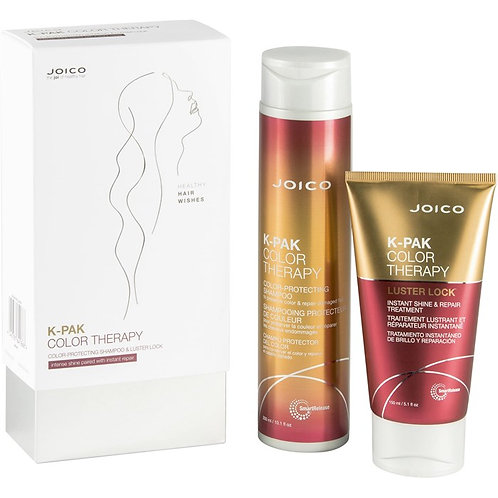 K-Pak Color Therapy Box Set (Color-protecting shampoo and Luster Look)