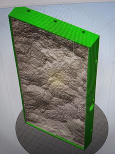 Rock Mould in Simplify 3D