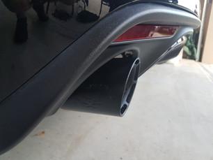 Custom Mustang Exhaust Tips