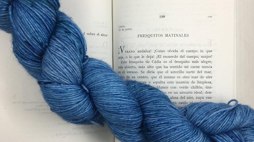 Color Blue Danuve