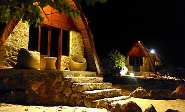 bungalow de nuit