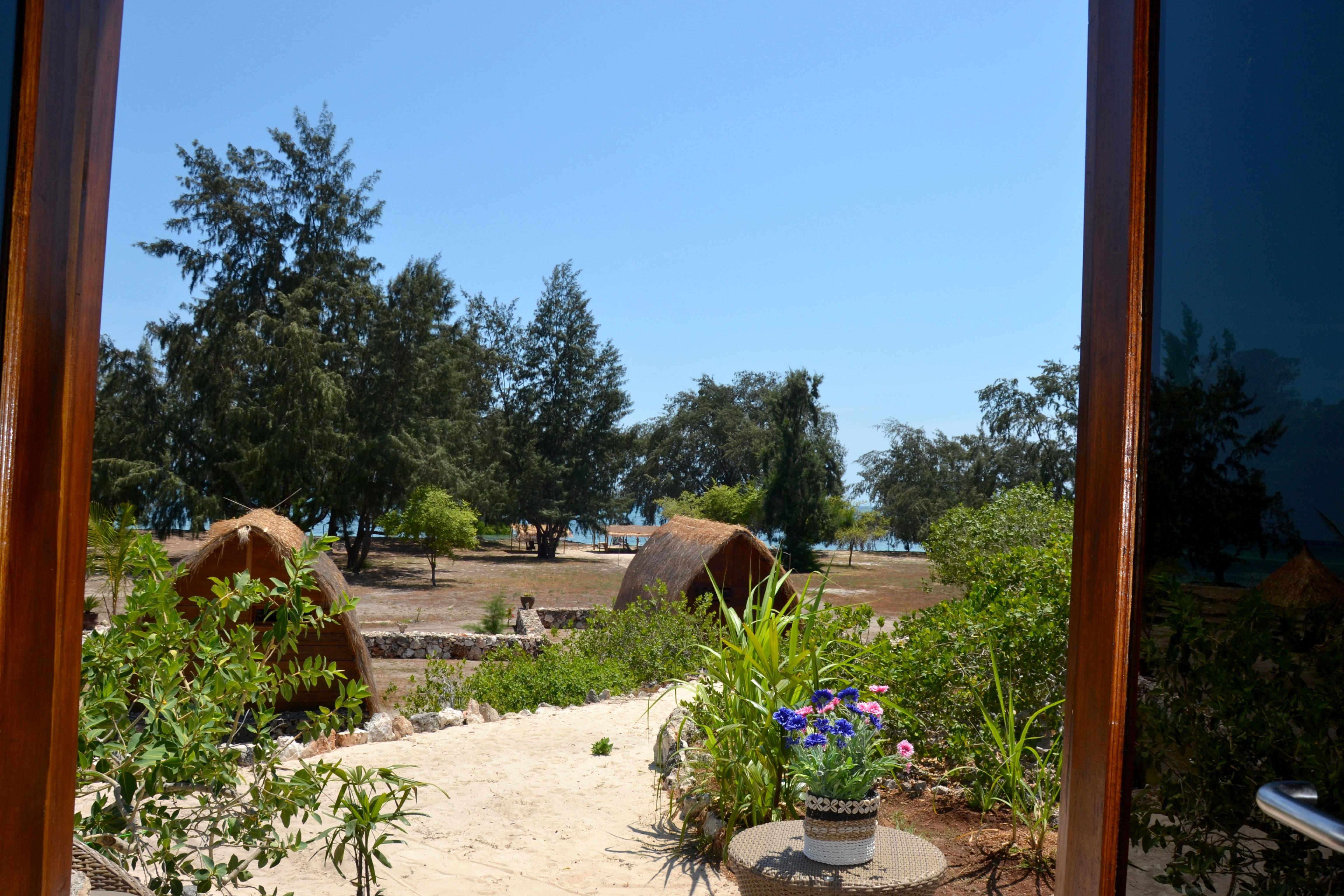 vue interieur bungalow