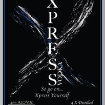 XPRESS Vodka Label Design