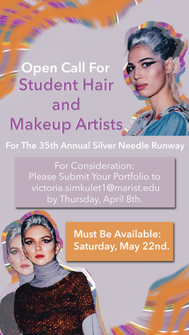 Makeup and Hair Casting Poster
