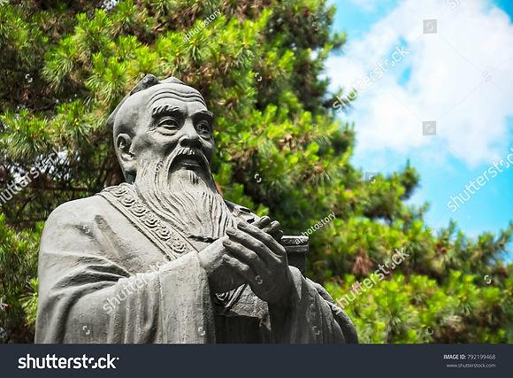stock-photo-statue-of-confucius-located-