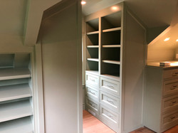 Custom closet cabinetry