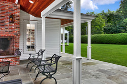 Porch posts