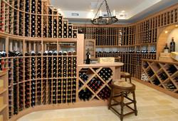 Estate wine cellar