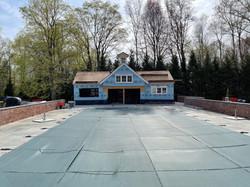 Pool House progress