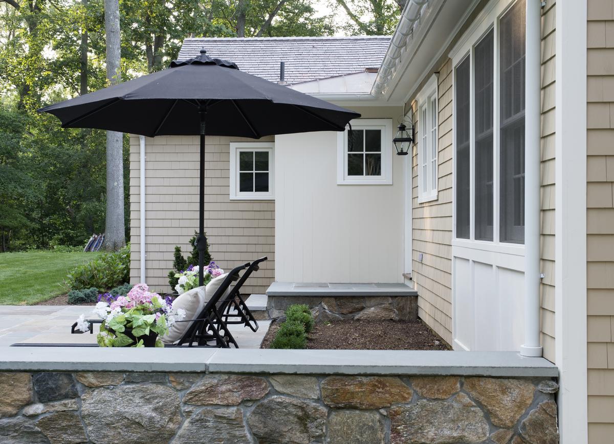 Cape style home