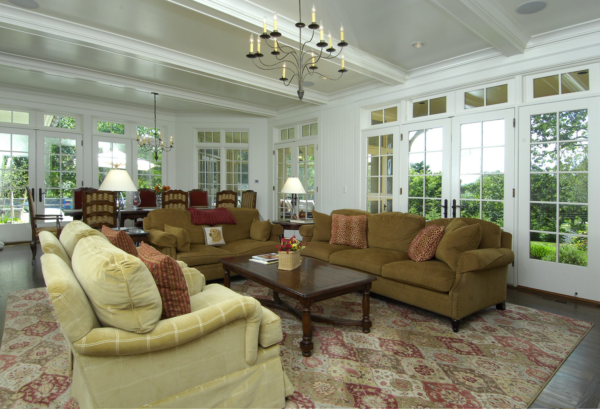 Estate family room