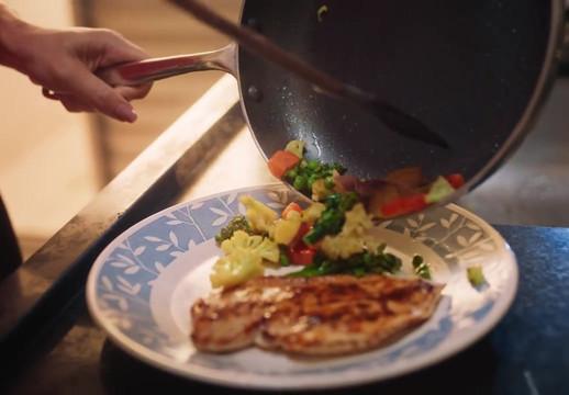 Liza Frango com Legumes Cozinha da Patrícia