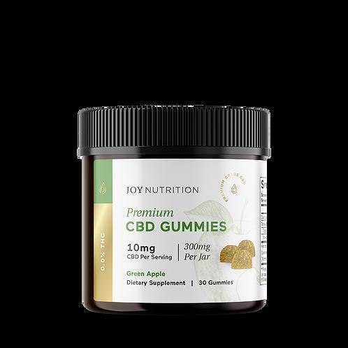 Joy Organics CBD Gummies 300mg Green Apple