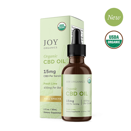 Fresh Lime Organic CBD Tincture (Full Spectrum)
