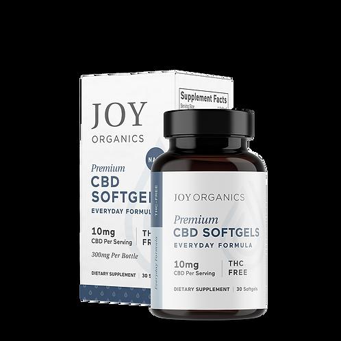 Joy Organics CBD Softgels 30ct