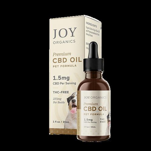 Joy Organics Pet CBD OIL