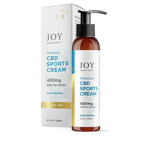 Joy Organics CBD Sports Cream 400mg