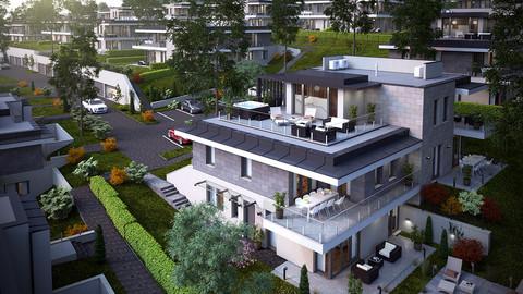 Törökbálint VI. ütem 88 lakásos lakópark