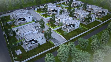Törökbálint, III. ütem 26 lakásos lakópark