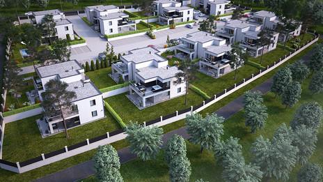 Törökbálint, V. ütem 32 lakásos lakópark