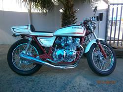 1976 Kawasaki KZ 650 cafe racer after pic 1