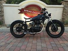 Classic Motorcycle Honda CB360 Bobber Cafe Racer