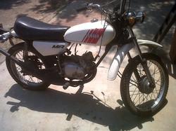 1974 Yamaha    MR 50 before pic 1