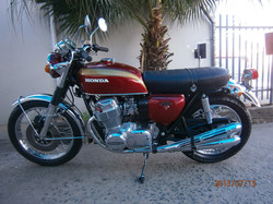 1972 Honda CB 750 after pic 1