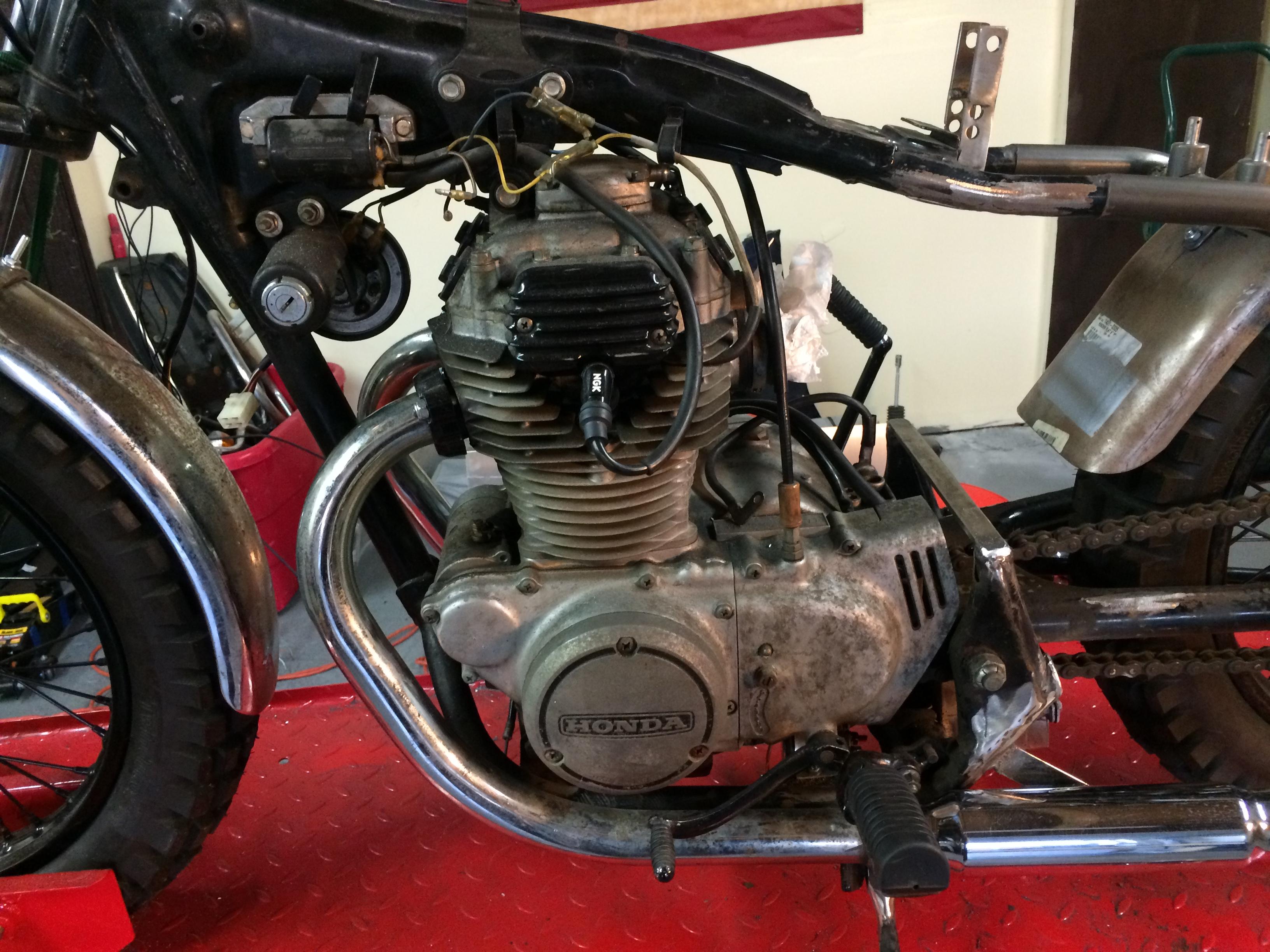1974 Honda CB 360 Before 2