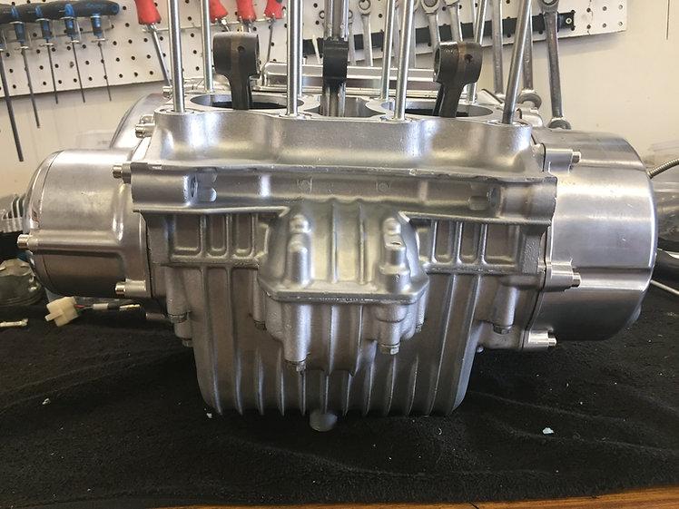 Motorcycle Engine Vapor Honing