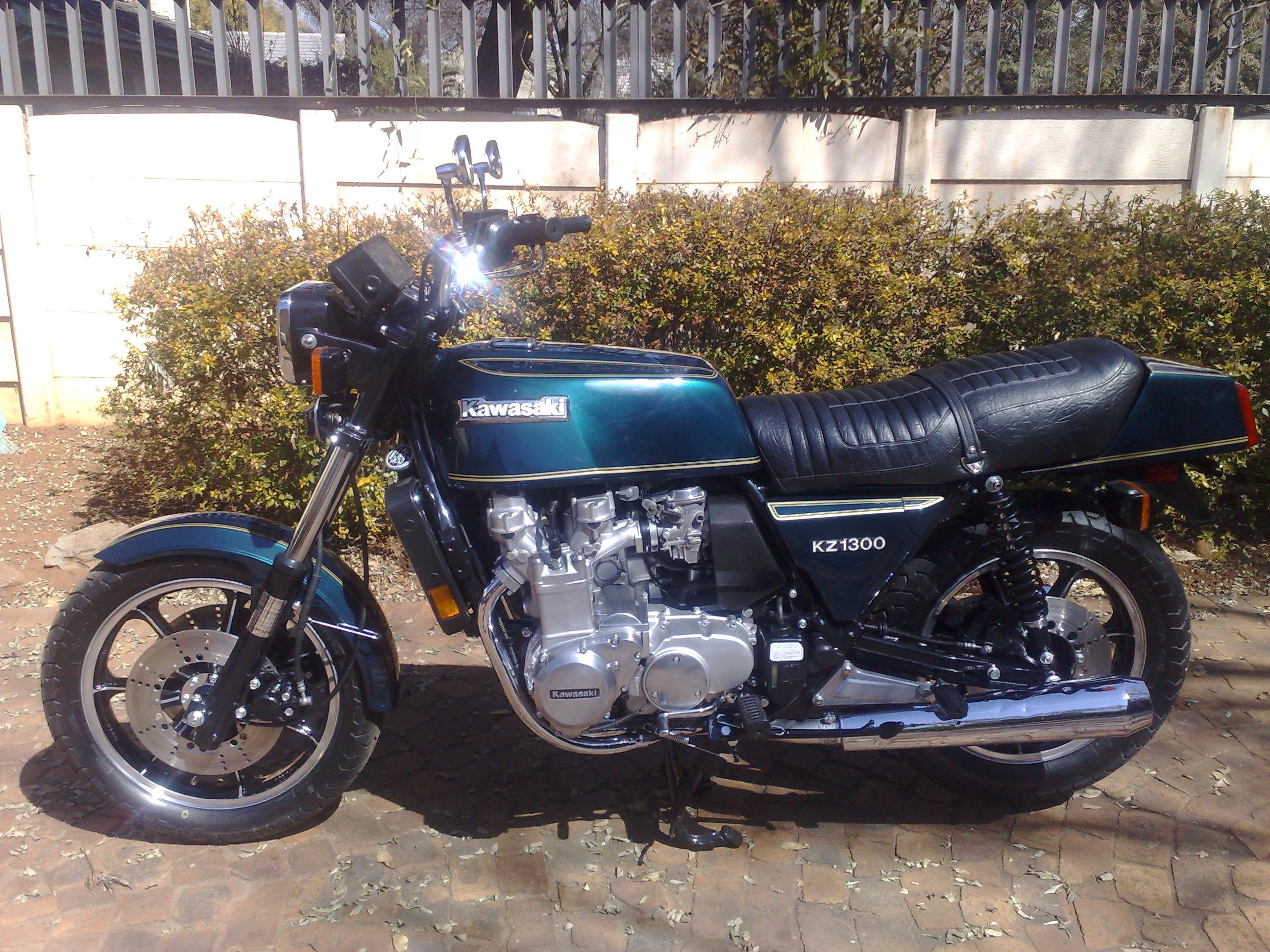 1980 Kawasaki KZ 1300 after pic 1