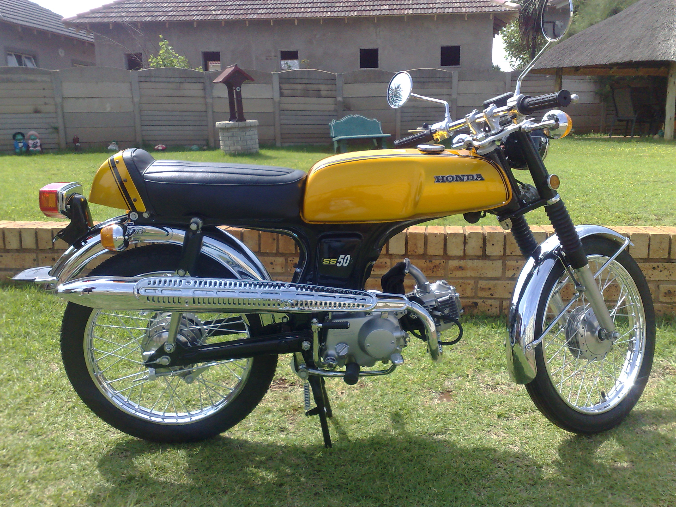 1974 Honda SS50 GT after pic 1