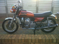 1976 Suzuki RE5 after pic 1