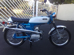 1972 Yamaha FS1 after pic 1