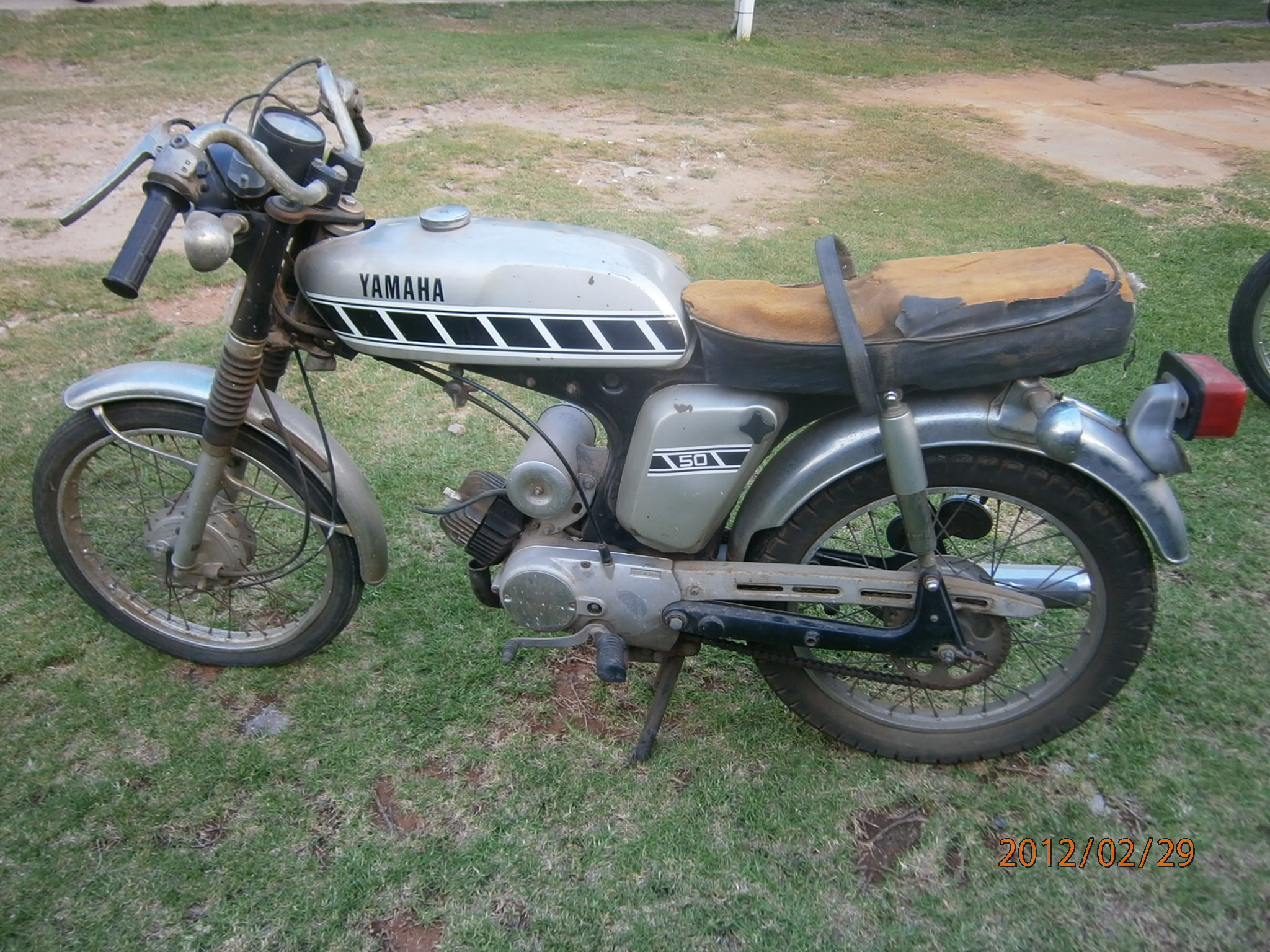 1976 Yamaha FS3 before pic 1