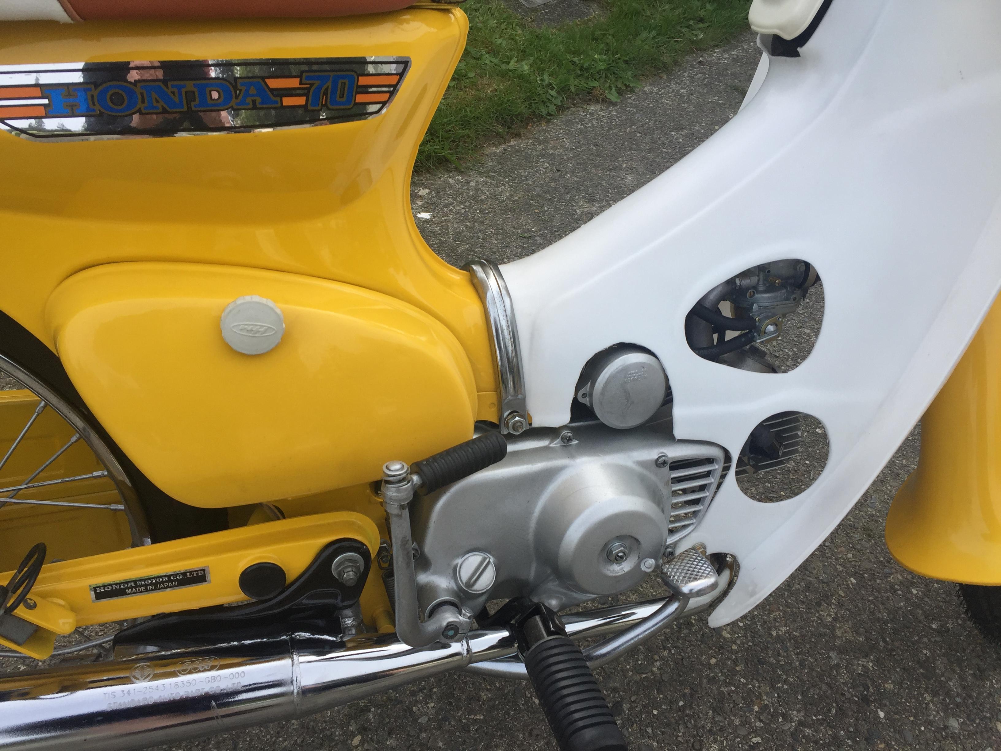 1972 Honda Cub 70 Deluxe
