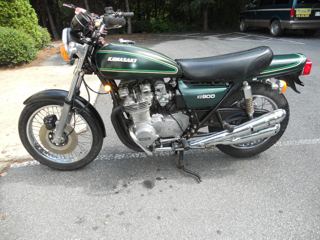 1976  Kawasaki kz 900 Before