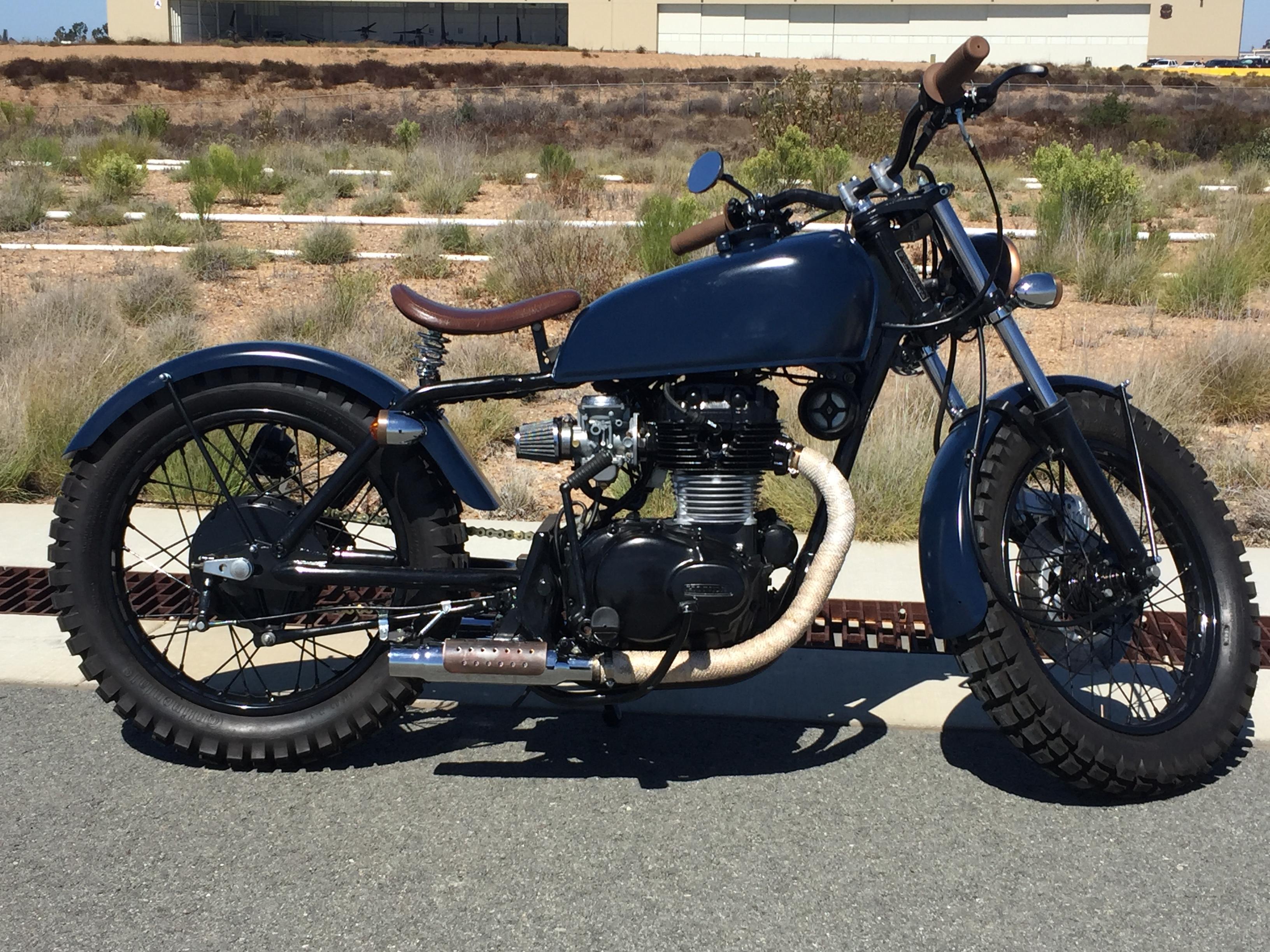1974 Honda CB 360 After 9