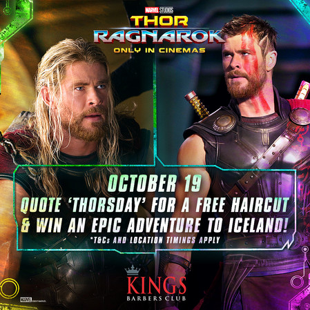 Win a Trip to Iceland - Got Long Hair? Get it Cut Like Thor