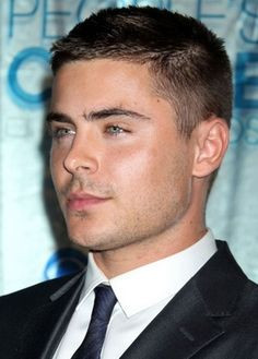 Zac Efron Supporting A Crew Cut - The Crew Cut - Mens Hair Styles 2017