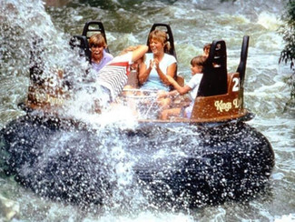 Part 18 - Kings Dominion's White Water Canyon: Correction; You Will Get Soaked