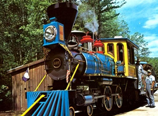 Part 24: Kings Dominion's Old Dominion Line: Just a nice ride through the woods