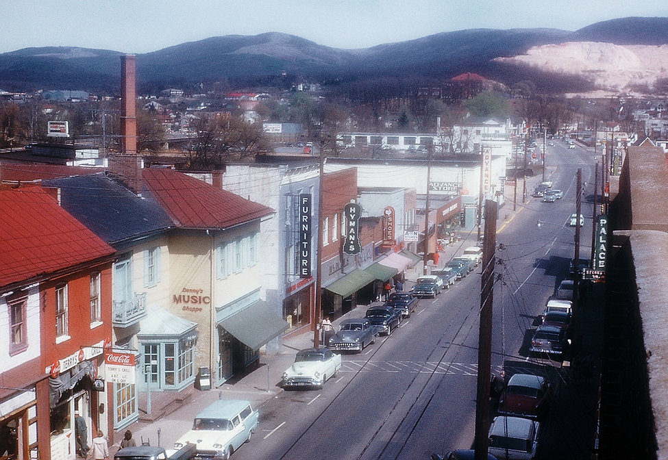 1959 Waynesboro Main Street looking east
