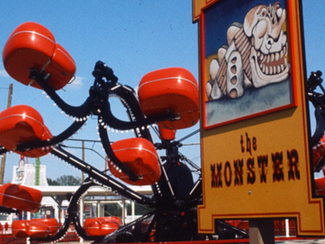 Part 23: Kings Dominion's Monster: Queasy Fun in Forward; Repellent Nightmare in Reverse