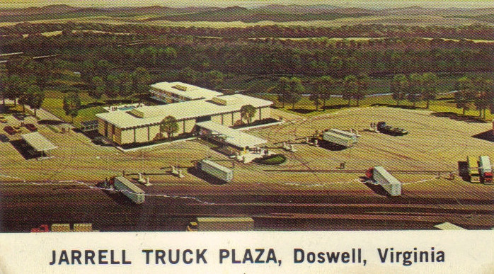 Jarrells truck plaza early 70s.JPG