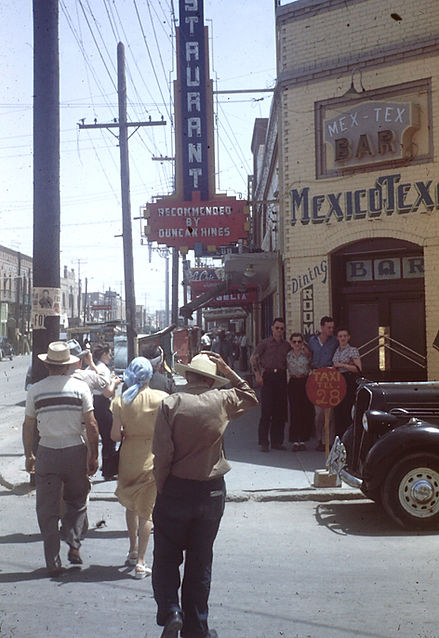 1948 JMB and HDB downtown Abq NM.JPG